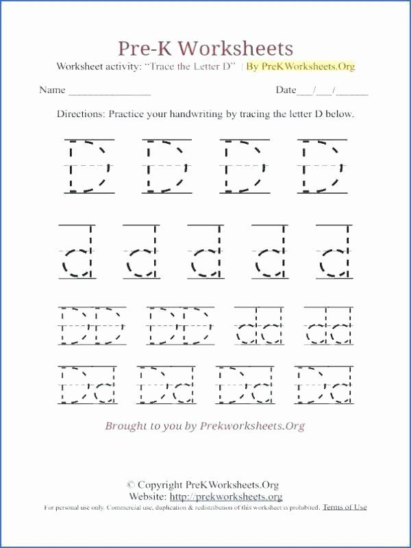 D Nealian Cursive Worksheets D Nealian Handwriting Worksheets Free