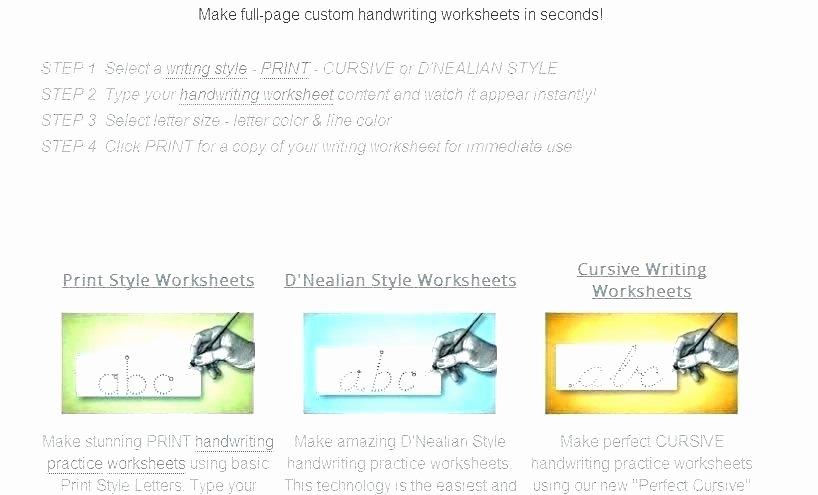 D Nealian Cursive Worksheets Free Cursive Alphabet Worksheets Practice Writing