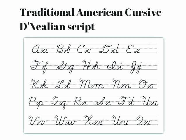 D Nealian Cursive Worksheets Letter D In Cursive – 2oclock