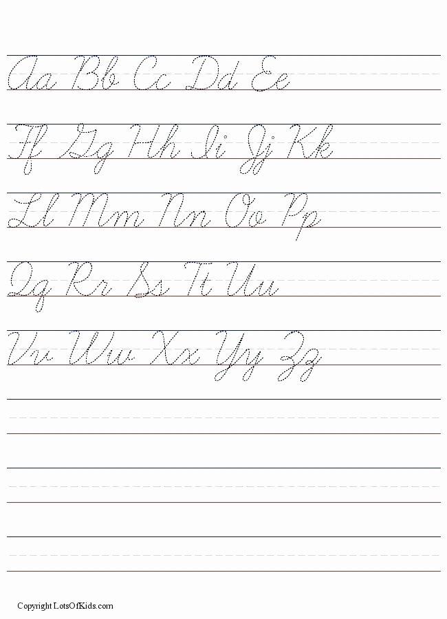 D Nealian Cursive Worksheets Preschool Worksheets Handwriting Worksheet Generator Cursive