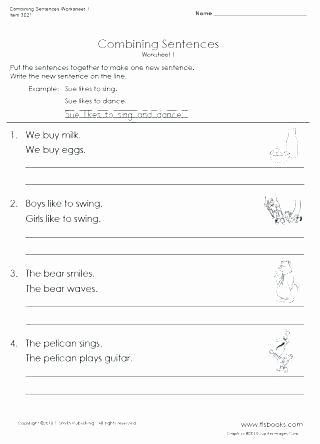 Daily Edit Worksheet Unique forming Sentences Worksheets