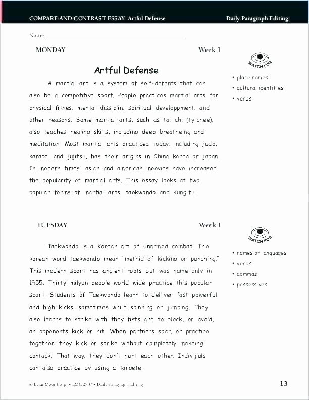 Daily Edits Worksheets Punctuation Worksheets High School with Answers Quotation End Sc