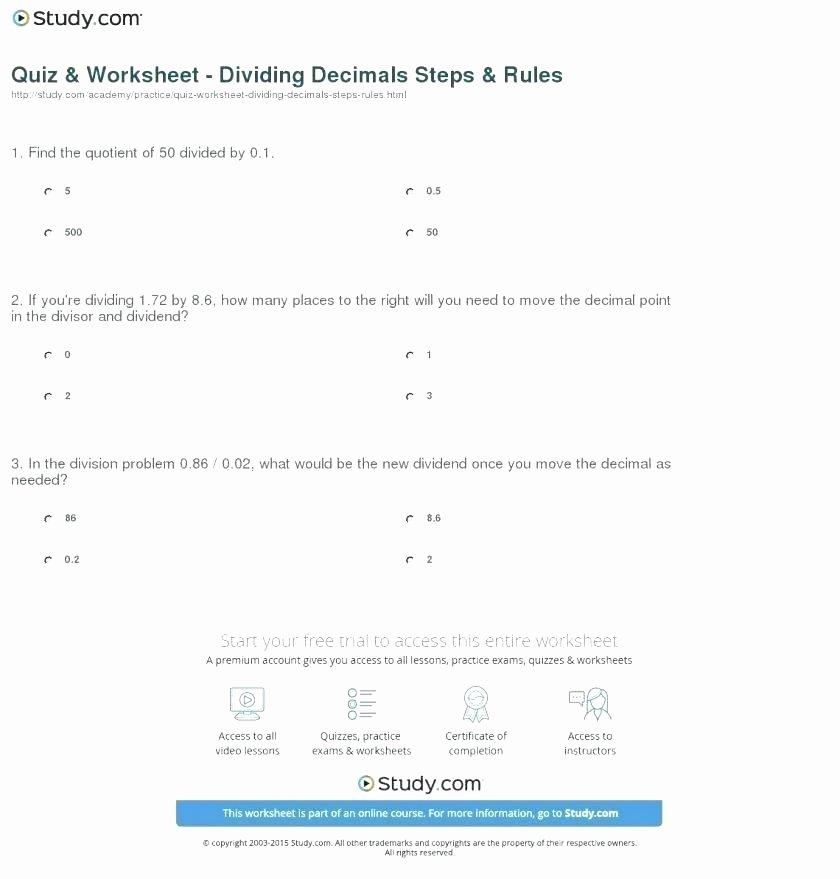 Decimal Division Worksheet Pdf Long Division Worksheets Decimals