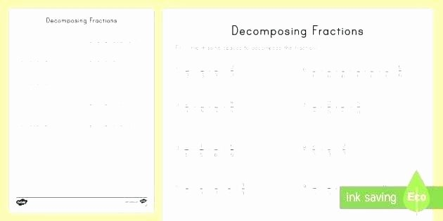 Decomposing Fractions Worksheets 4th Grade 4th Grade Decimals – Papakambing