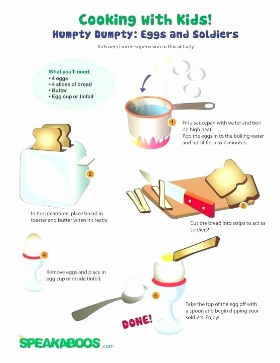 Dentist Worksheets for Kindergarten Cooking Worksheets for Kids