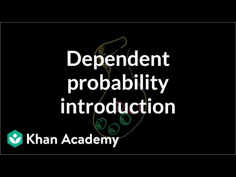 Dependent Probability Worksheet with Answers Dependent Probability Introduction Video