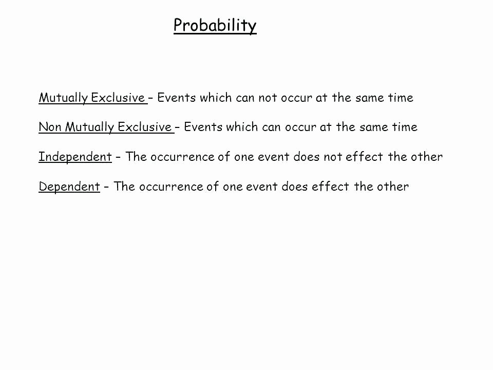 Dependent Probability Worksheet with Answers Probability Independent events Worksheet – originalpatriots