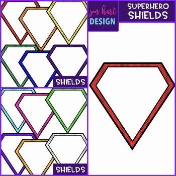 Design Your Own Superhero Worksheet Superhero Shield Worksheets & Teaching Resources