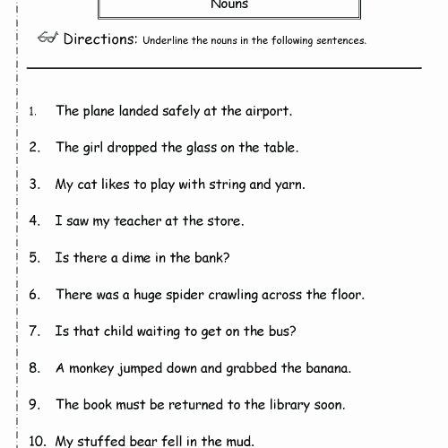 Dialogue Worksheet 5th Grade Grade Grammar Worksheet Inspirational Grade 5 Grammar