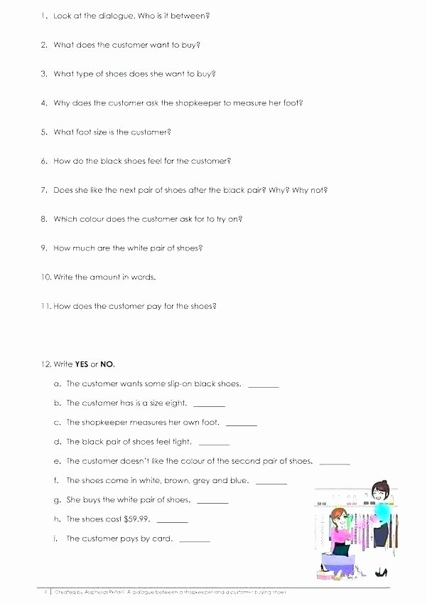 Dialogue Worksheets 4th Grade Grade Dialogue Worksheets In Text Quotation and Dialogue