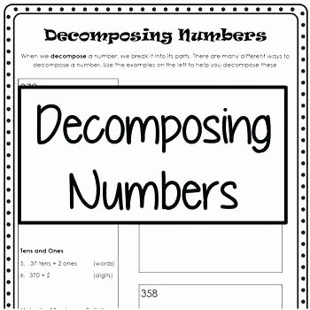 Diamond Worksheets for Preschool Place Value Teen Numbers to Worksheets Learn How Many Tens