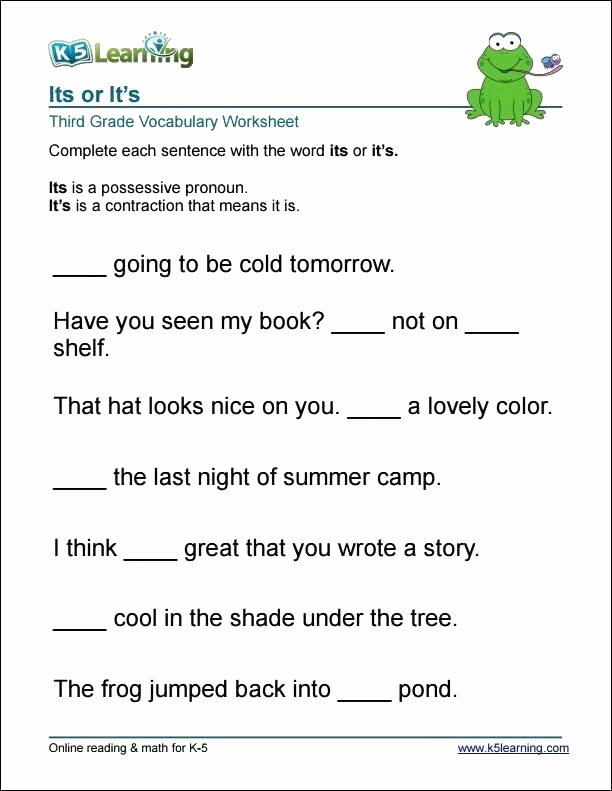 Dictionary Skill Worksheets 3rd Grade First Grade Vocabulary Worksheets