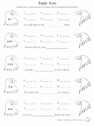 Digraph Worksheets for First Grade Kids Free Phonics Worksheets First Grade and Second for