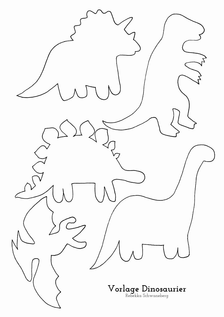 Dinosaur Worksheets for Preschoolers Awesome Ein Dinosaurier Geburtstag – Loveletter