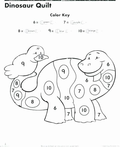 Dinosaur Worksheets for Preschoolers New Preschool Color Worksheets Coloring Book Free Recognition by