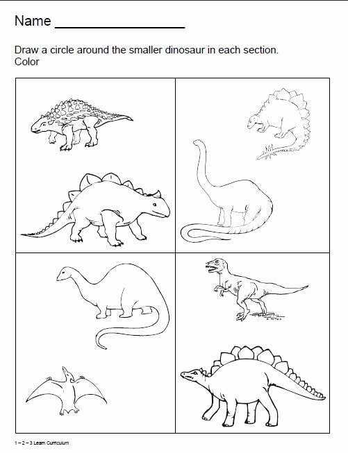 Dinosaur Worksheets Kindergarten Beth Parlatore Bethparlatore On Pinterest