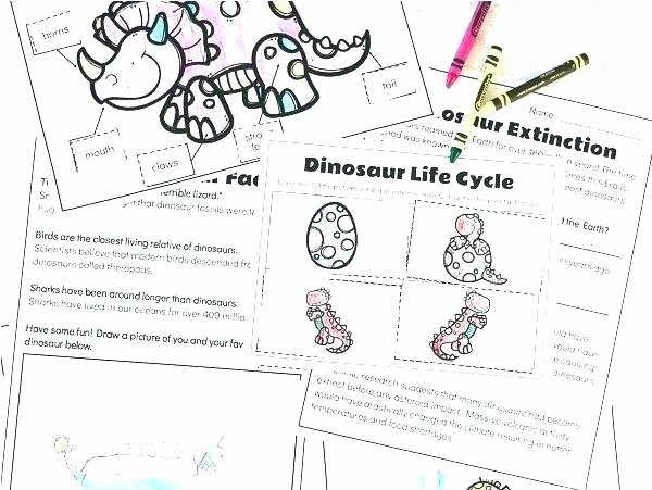 Dinosaur Worksheets Kindergarten Learning to Read Worksheets – Imallears