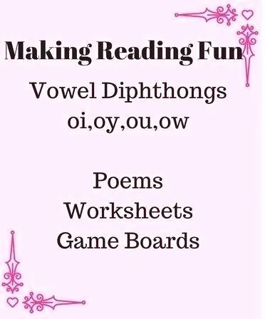 Diphthongs Oi Oy Lovely Diphthongs Oi and Oy Worksheets Vowel original Poems Game