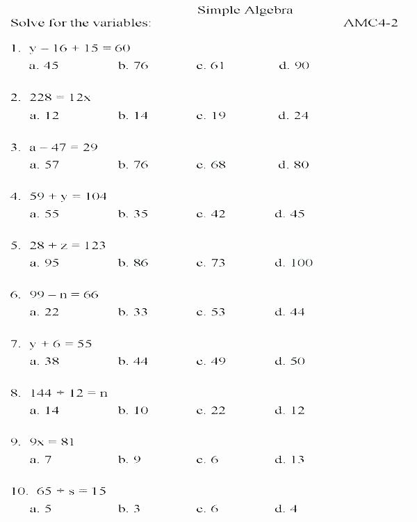 Distributive Property Worksheets 9th Grade Pre Algebra Crossword Puzzle Pdf