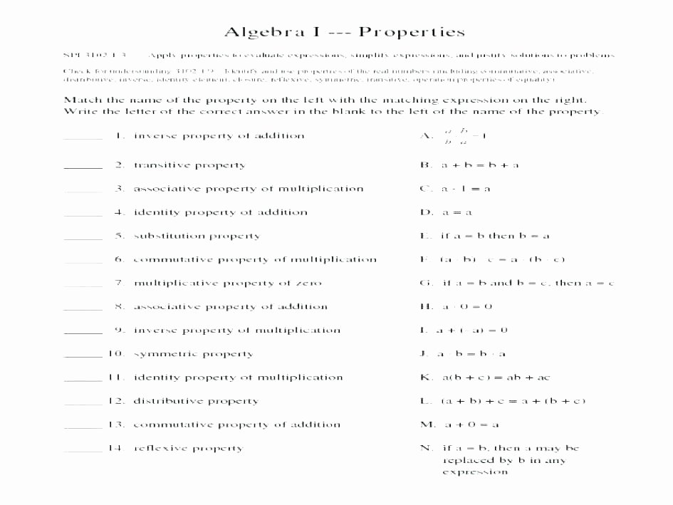 Distributive Property Worksheets Pdf Distributive Property Worksheets 4th Grade Free