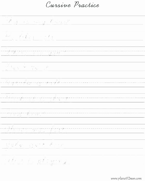 Dnealian Handwriting Worksheet D Nealian Cursive Handwriting Worksheets
