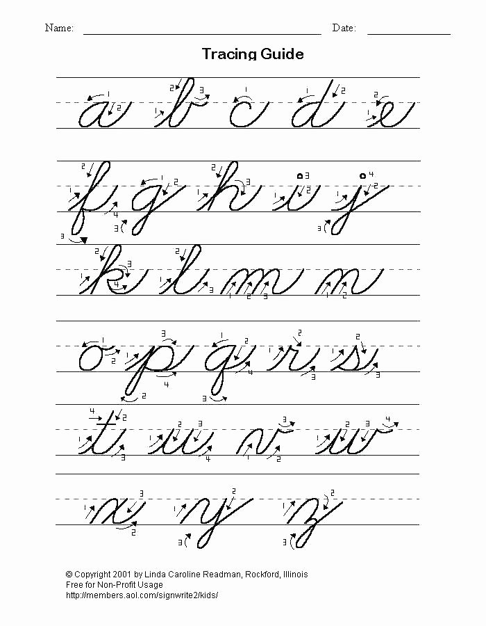 Dnealian Handwriting Worksheet Make Your Own Printable Handwriting Worksheets Cursive