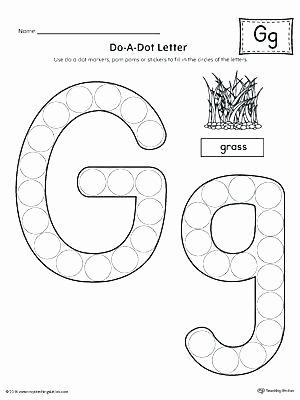 Do A Dot Worksheets Dot to Dot Alphabet Worksheets Printable