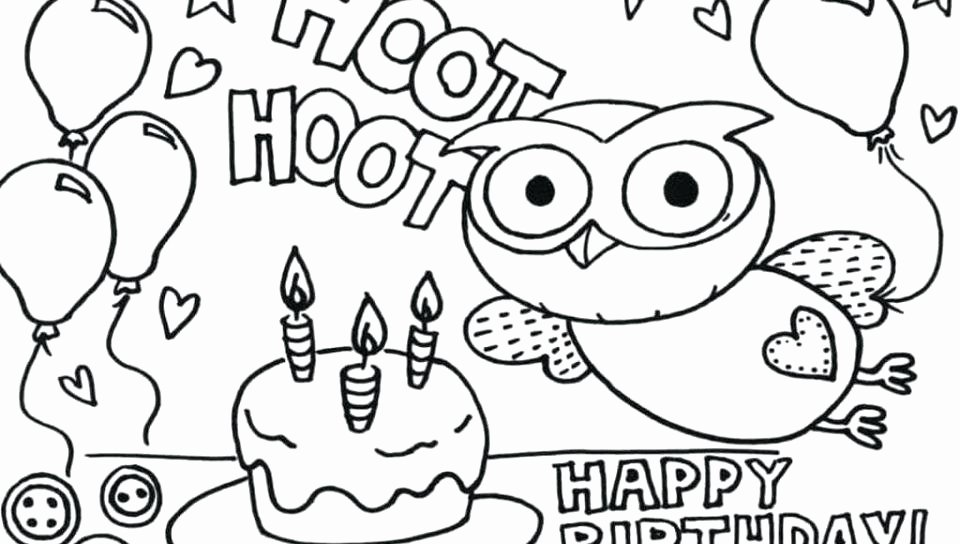 Dot Art Coloring Pages Happy Birthday Color Sheets Free Printable Happy Birthday