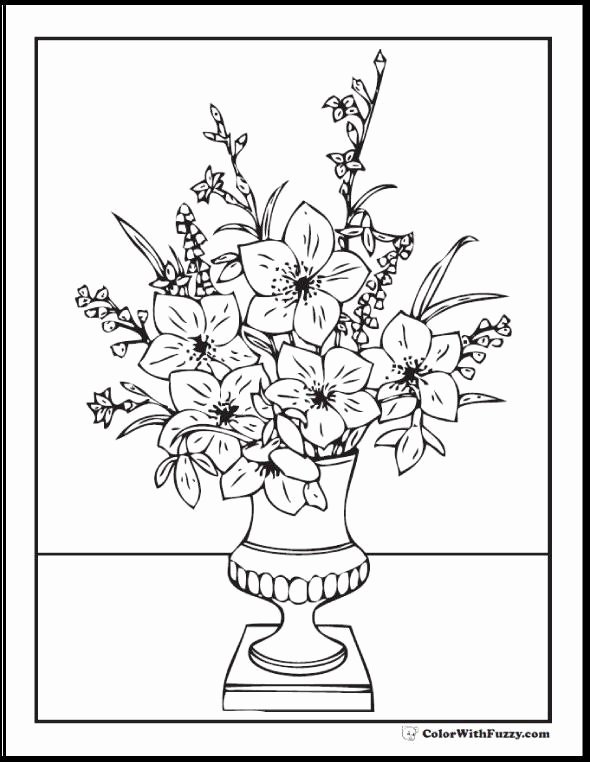 Dot to Dot Adults 21 New Love for Coloring Pages for Adults Flowers Picture