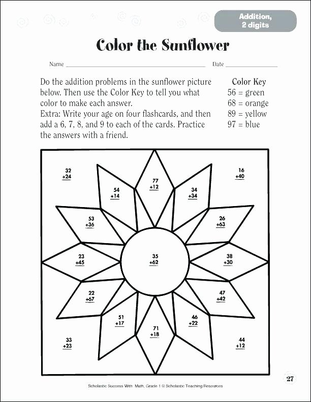 Double Digit Addition Coloring Worksheets Coloring Pages Math – 488websitedesign