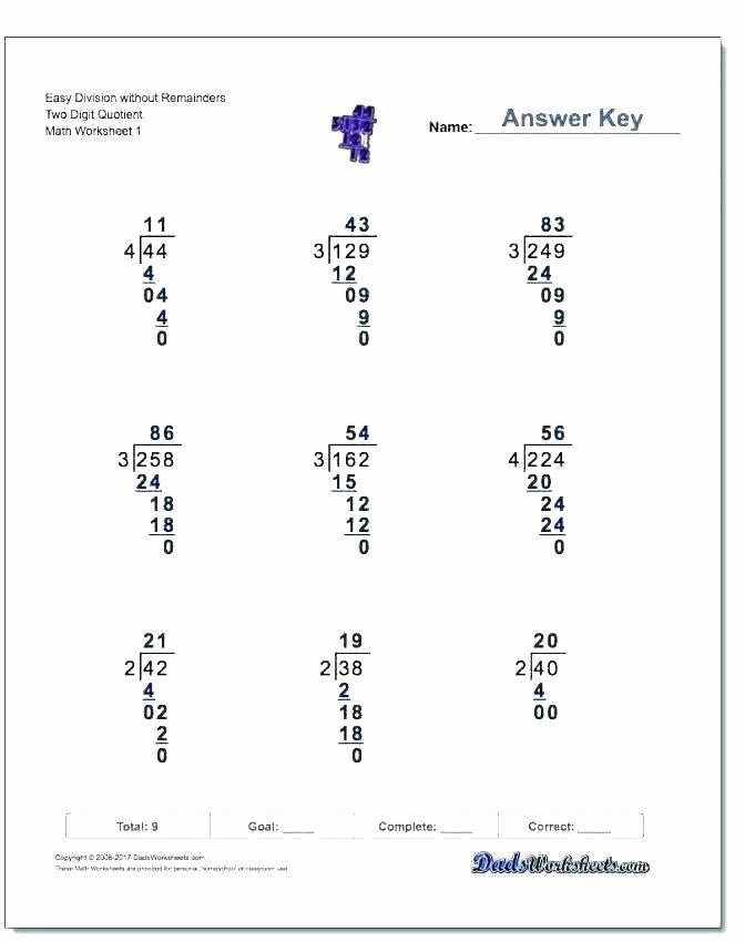 Double Digit Division Worksheet Math Worksheets Long Division – Slaterengineering