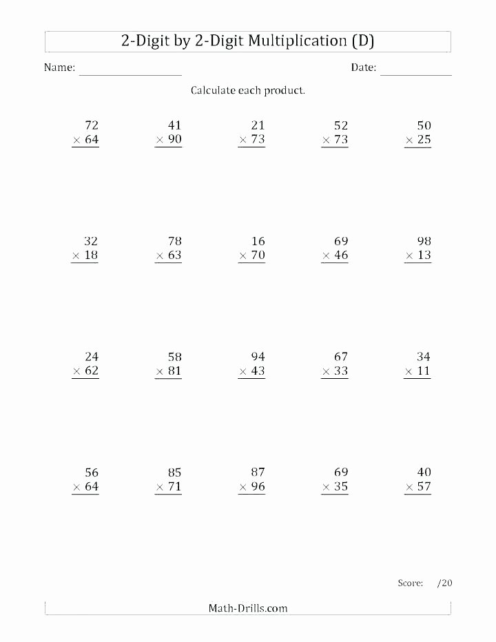 Double Digit Division Worksheet Two Digit Division Worksheets