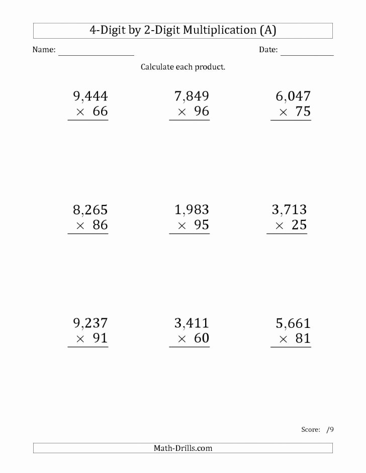 Double Digit Division Worksheets Worksheet Ideas Multi Digit Multiplication and Divisionts