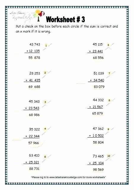 Doubles Addition Worksheet 5 Digit Addition with Regrouping Worksheets