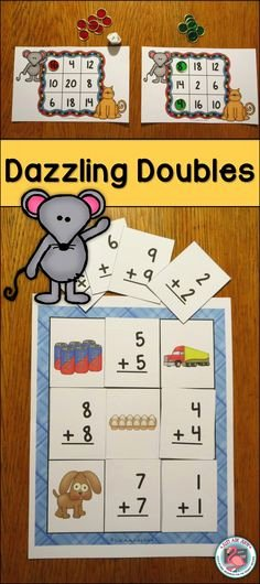 Doubles and Near Doubles Worksheets 7 Best Doubles Rap Images In 2017