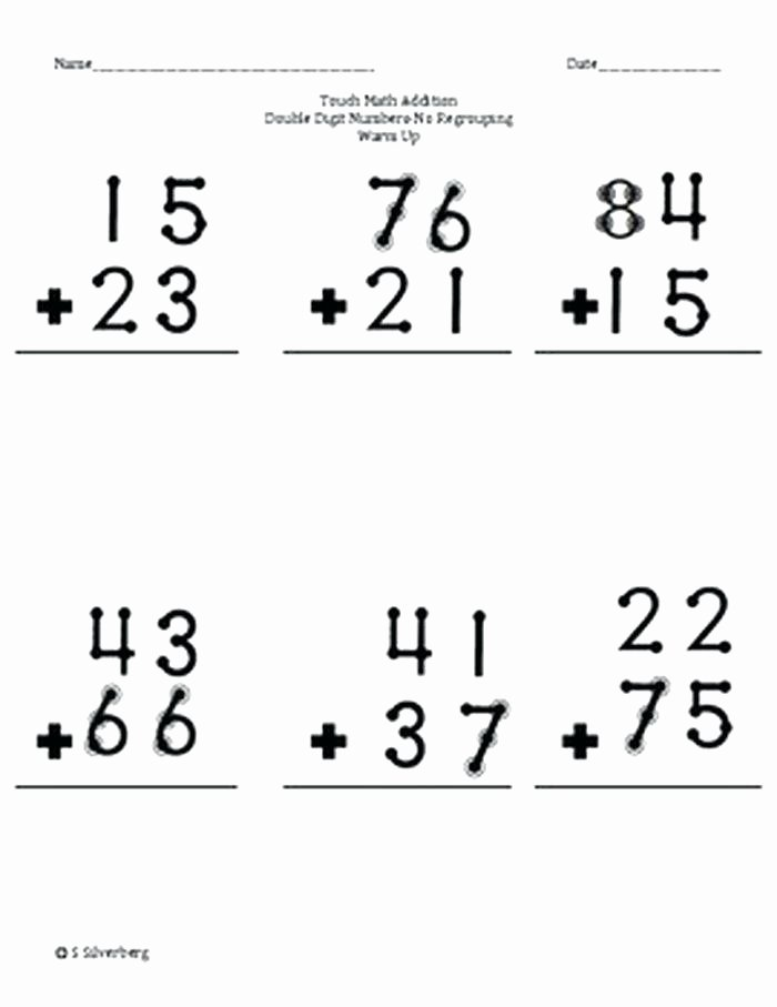 Doubles Math Facts Worksheet Double Addition – Uasporting