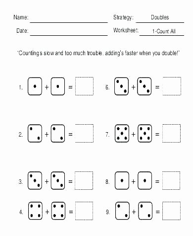 Doubles Math Facts Worksheet Math Basic Facts Worksheets – Primalvape