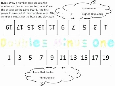 Doubles Math Facts Worksheets Fact Family Worksheets 2nd Grade Full Size Subtraction