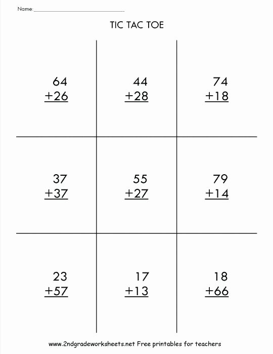 Doubles Math Worksheet Math Worksheets Addition without Carrying – Makinterests