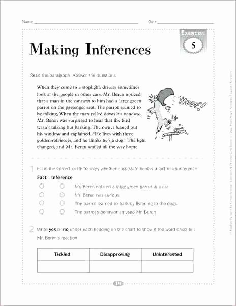 Drawing Conclusions Worksheets 4th Grade Drawing Conclusions Worksheets 3rd Grade Drawing Worksheets