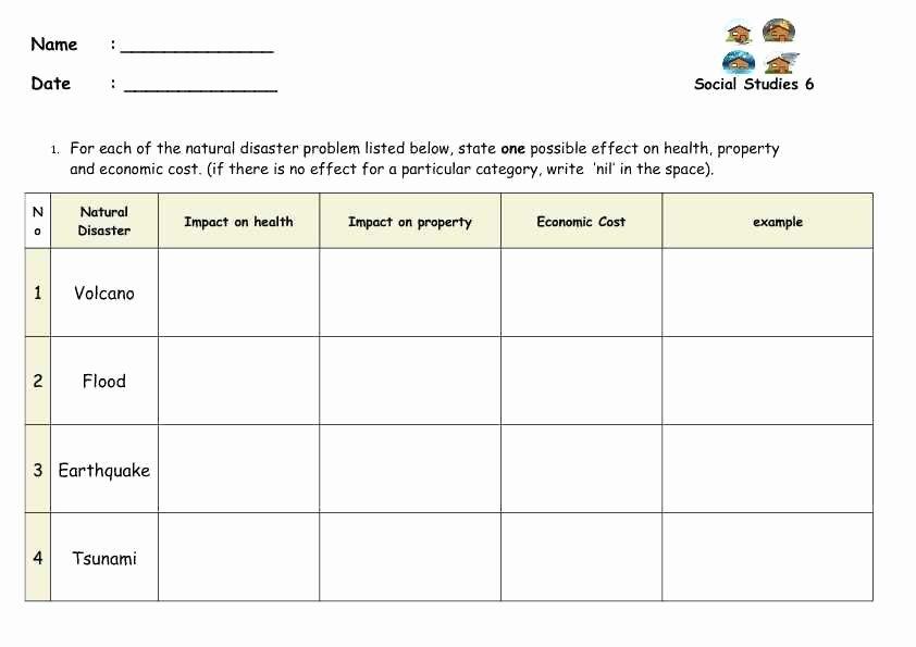 Earthquake Worksheets Middle School Elegant Potential Kinetic Energy Worksheet Middle School Types