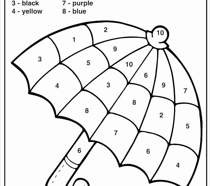 Easy Color by Number Worksheets Color by Number Sheet – Javisebalier
