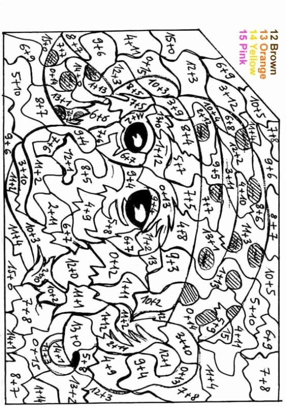 Easy Color by Number Worksheets Free Coloring Pages Color by Number Fresh 13 Coloring by