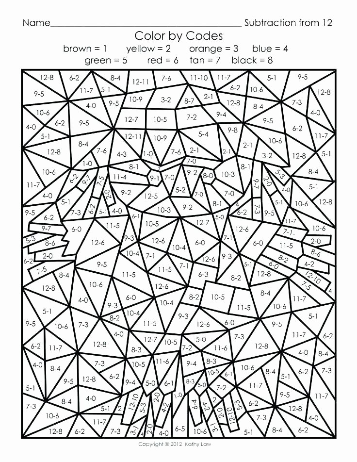 Easy Color by Number Worksheets Hard Color by Number Coloring Pages – Spikedsweettea