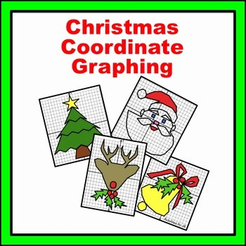 Easy Coordinate Grid Pictures Christmas Coordinate Graphing