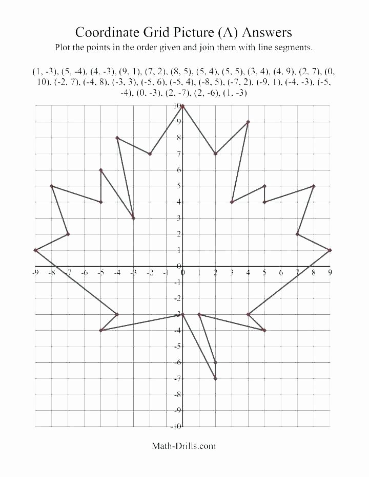 Easy Coordinate Grid Pictures Halloween Graphing Worksheets Happy Kids Math Coordinate