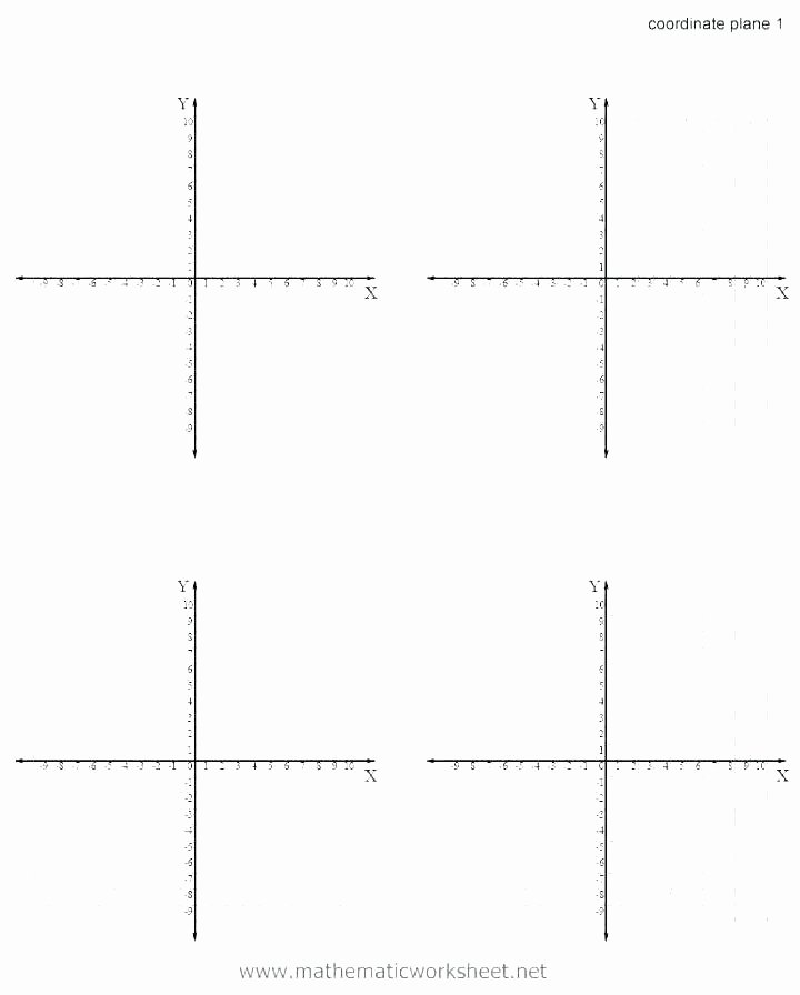 Easy Coordinate Plane Pictures Graph Art Worksheets