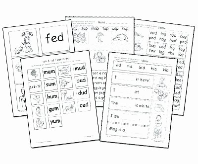 Ed and Ing Worksheets Ing Word Family Worksheets
