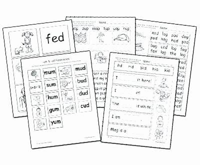 Ed Ing Worksheets Ing Word Family Worksheets
