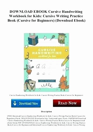 Check Writing Lessons Worksheets line Practice Download Cursive Handwriting Workbook For Kids Book W
